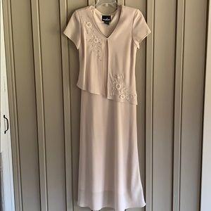 Positive Attitude Tan Long Dress size 4